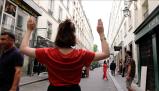Urban Score: Beth Weinstein and Catherine Baÿ video still: Angele Sereni and Beth Weinstein
