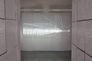 Performing Spatial Labour: Installation View, Palimpsest (CIV), memes leurs ombres