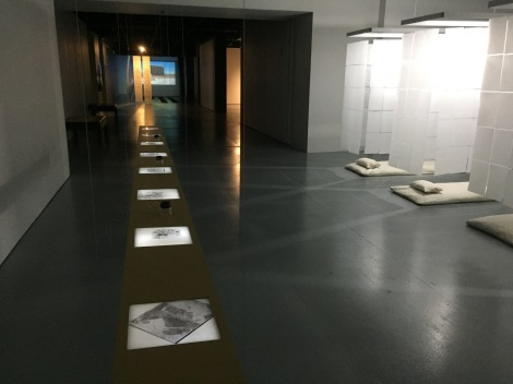 Performing Spatial Labour: Installation View